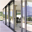 Stainless Steel Glass Sliding Door