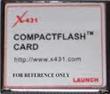 X431 CF card