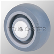 3-inch Thermo plastic Rubber  TPR  wheel