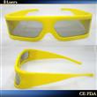 2011 latest plastic 3D glasses