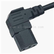 90 Degree C13 Appliance Connector