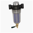 Front water filter system