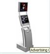 Advertising Check in Kiosk