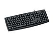 Portable Wired Black Slim Keyboard