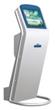 Slim Touch Kiosk with Printer/Information Kiosk