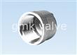Stainless Steel Threaded Cap