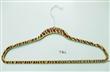 Zebra printed Velvet coat hanger