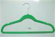 Printed velvet coat hanger