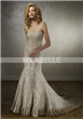 Embroidery Lace Bridal Dress
