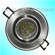3w LED Downlight Silver