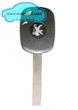 PEUGEOT 4C4D(Electron) Transponder Key 2