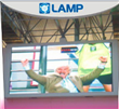 LED display for light and advertisement