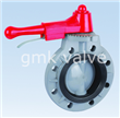 Plastic Handle Lever Butterfly Valve