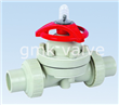 Plastic Socket Type Diaphragm Valve