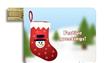 Santa sock Card USB