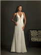 Halter Top Soft Satin Wedding Dress