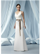 Graceful Informal Wedding Dress Sash