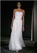 Net Column/Sheath Wedding Dress