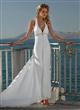 Sheath Beach Destination Wedding Dress
