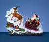 "12.6""Santa Riding Motorcycle with Rotation LED"