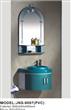 Bright Color PVC Bathroom Cabinet