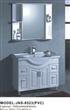 Fashion Bathroom Vanities With Mirror Cabinet