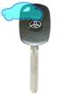 Toyota 4C4D(Electron) Transponder Key