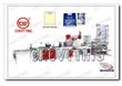 Fully Automatic Inside glue patch handle bag making machine