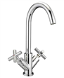 Dual-handle faucet