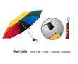 Rainbow Folding Golf Umbrellas