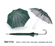 Stripe Folding Golf Umbrellas