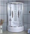 Tempered Glass Integral Shower Rooms