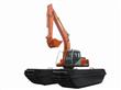 Big Hydraulic Excavator