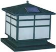 Stainless Steel Solar Chapiter Light