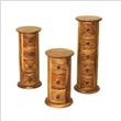 Round Wooden Jewelry Boxes