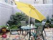Aluminum Umbrella Patio Sets