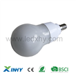 SMD e14 led lamp with milk white over