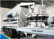 Secondary Mobile Cone Crusher