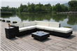 Luxury wicker Sofa Sectional Living Set