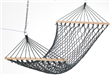 Hammock with wooden bar