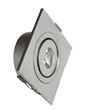 1W Square LED Downlights