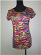 Cotton Camouflage Top For Women's