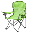 Camping chair with two cup holder