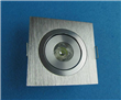 1*1W Square LED Downlights