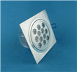 12*1W Square LED Downlights
