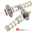 2 Car H1 White 5050 SMD 13 LED Bulb Head Fog Light Lamp 5 pieces a lot