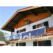 Balcony Heat Pipe Solar Collector