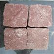 Red Porphyry Granite Paving Cube Stone
