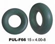 PU Foamed Green Never Flat Wheelbarrow Tire