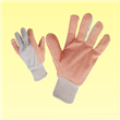 Cotton Gloves with High Visibility